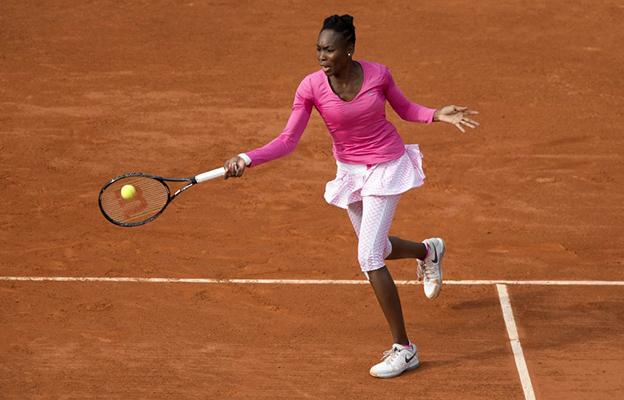 Venus Williams wyraźnie słabsza od Radwańskiej